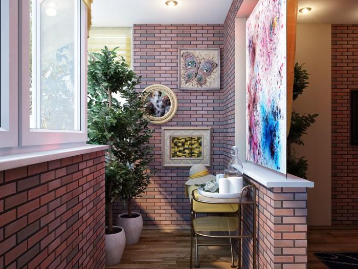 Дизайн проект трехкомнатной квартиры серии п44 - форум.